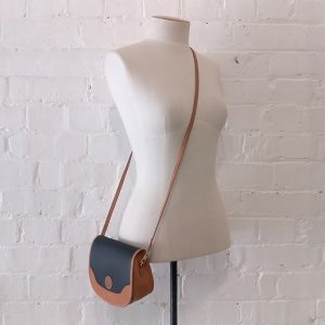 Cross-body mini bag.