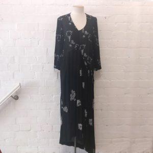 Printed dress.