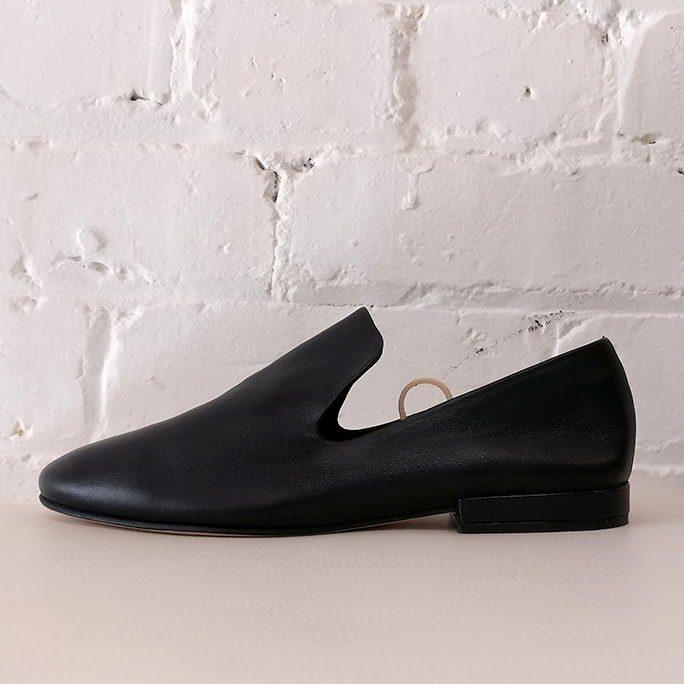 Soft leather loafer. Unworn!