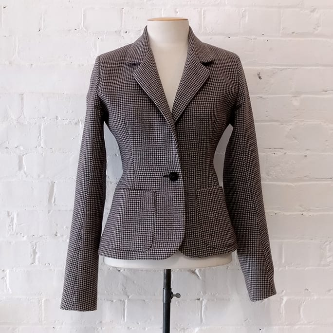 Equestrian jacket. Has matching Jockies, size 1.