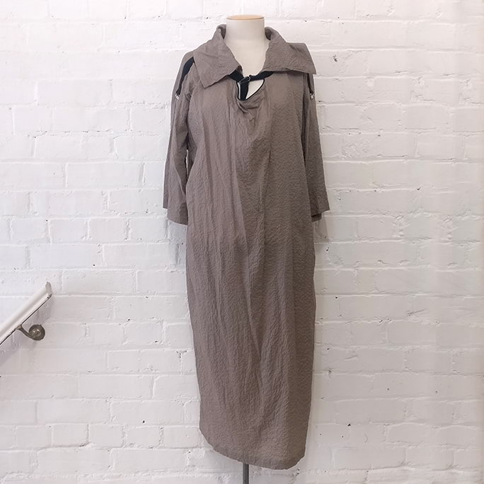 D-Ring dress with pockets.