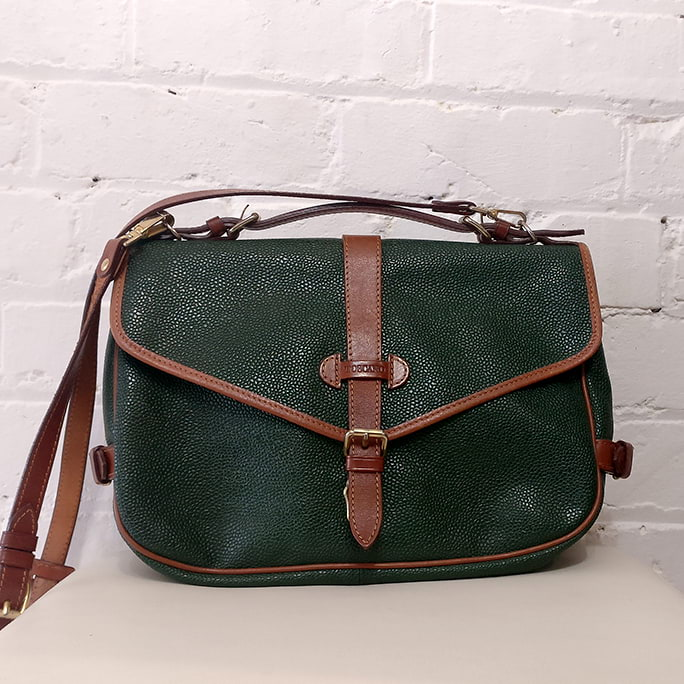 Double saddle bag.