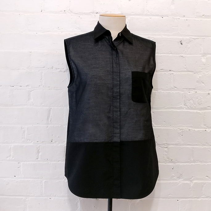 Alexander Wang sleeveless shirt.