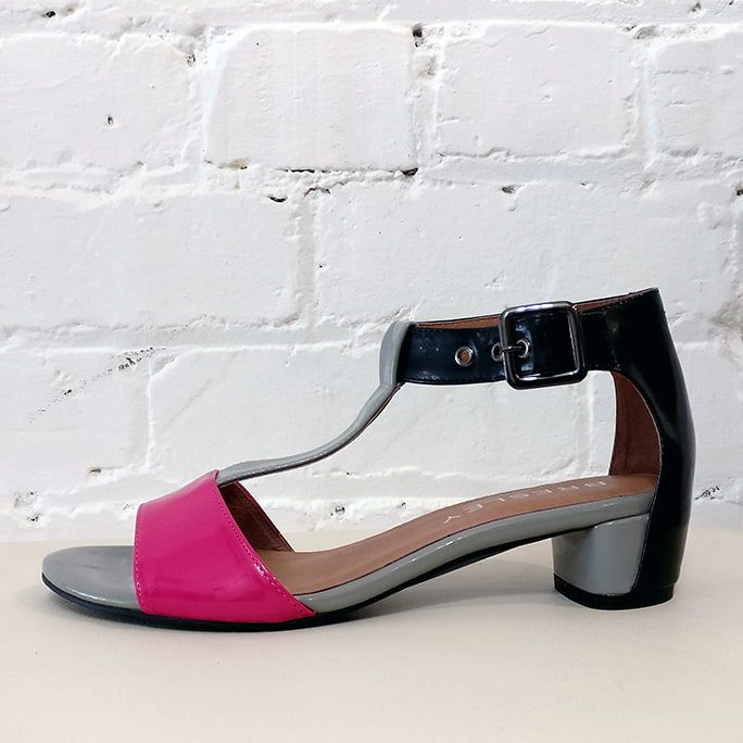 Santino cut-out sandal.