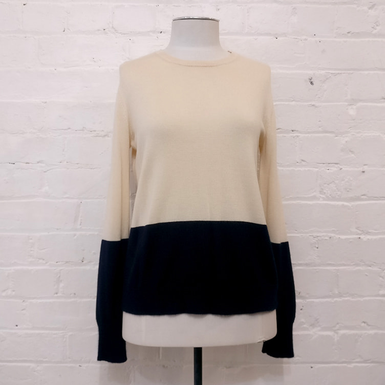 Silk & wool sweater.