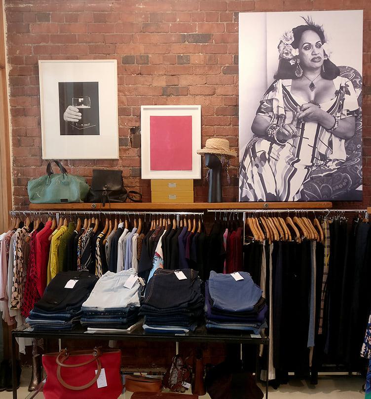 Second hand designer clothing
