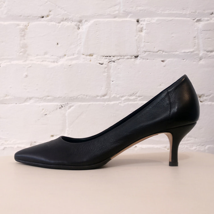 Kitten heels.