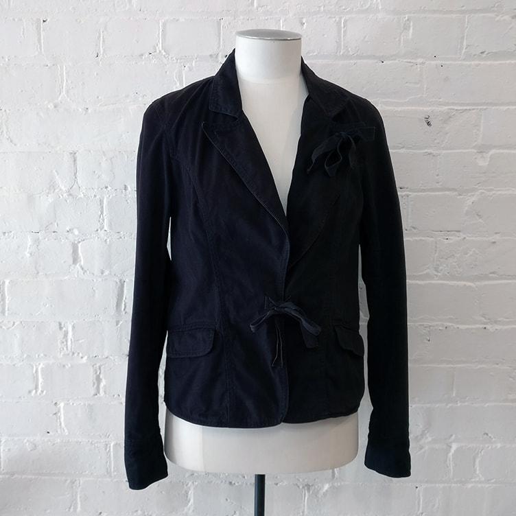 Canvas jacket.