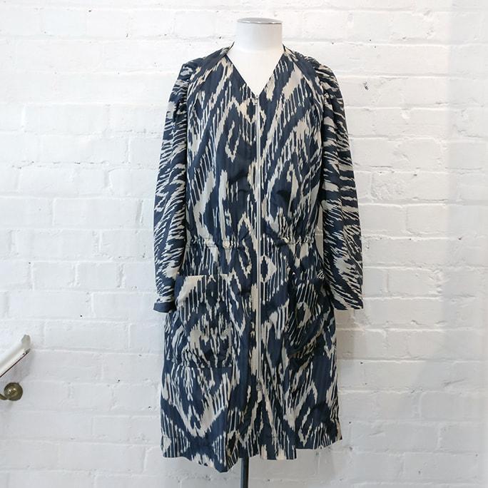 Showerproof coat.