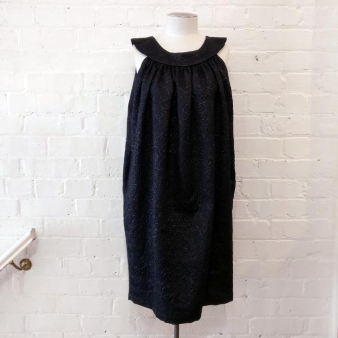 "Soiree dress, has pockets (<a href=""https://fashionrecovery.co.nz/zambesi-ladybird-size-2/"">Zambesi Ladybird crop jacket</a> also available)."