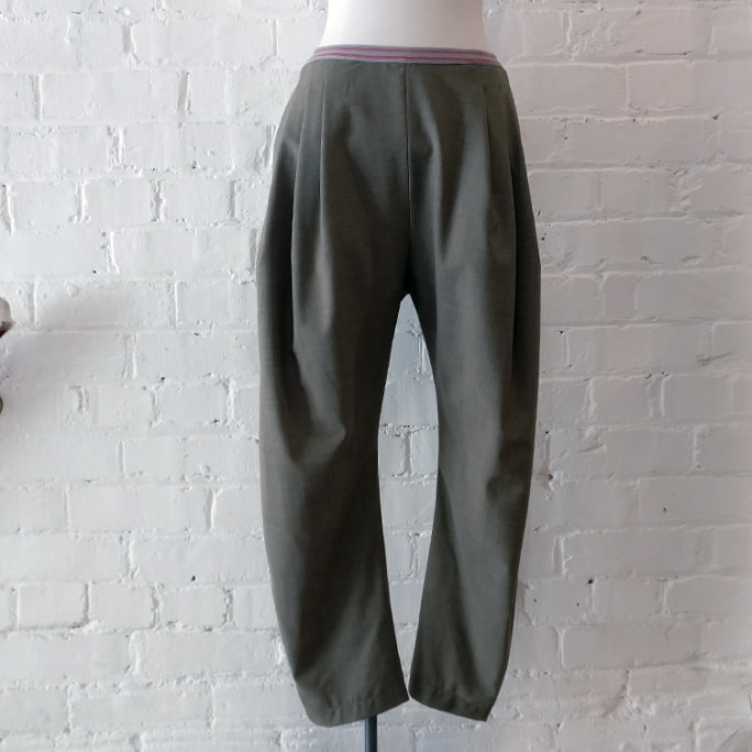 Jodhpur trousers.