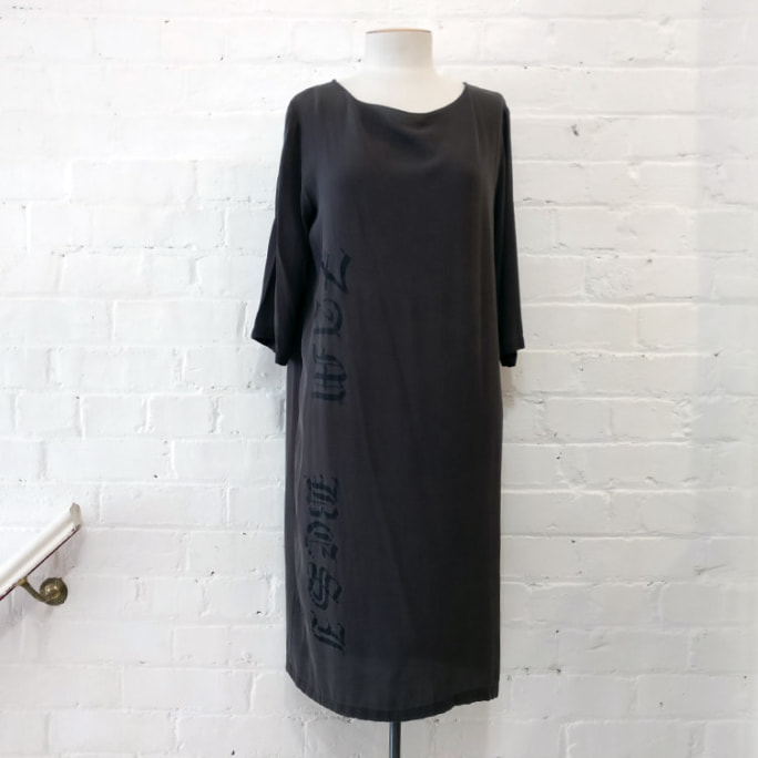 Insignia shift dress.