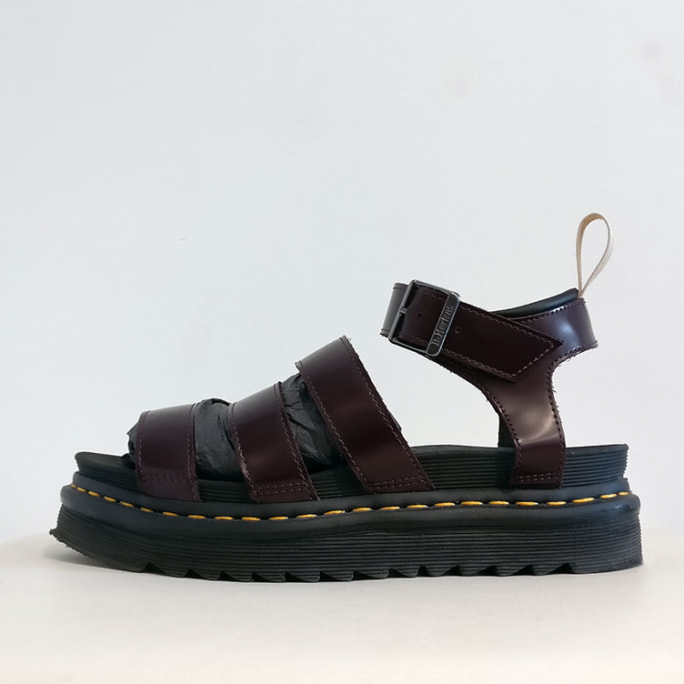 SoftWair burgundy leather sandals, look new!
