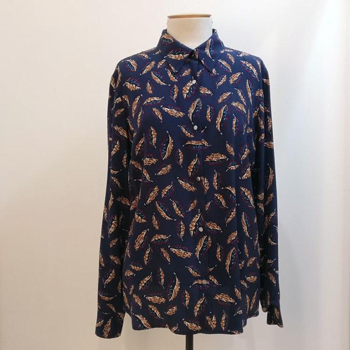 100% silk shirt.